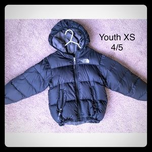 North Face Youth Jacket. Reversible | Size 4/5